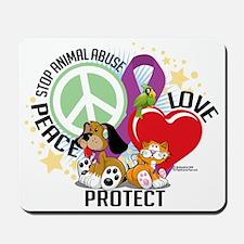 Stop-Animal-Abuse-PLP Mousepad