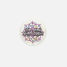 Animal-Rights-Lotus Mini Button