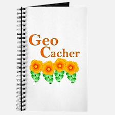Orange Geocacher Journal