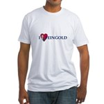 I HEART FEINGOLD Fitted T-Shirt