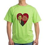 I HEART FEINGOLD Green T-Shirt