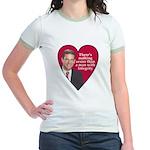 I HEART FEINGOLD Jr. Ringer T-Shirt