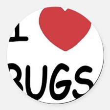 BUGS Round Car Magnet