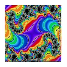 Fractal R~06 Tile Coaster