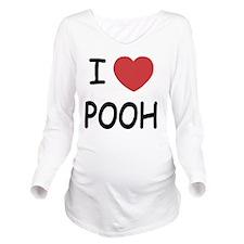POOH Long Sleeve Maternity T-Shirt