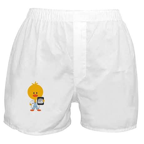 3-RadiologyChickDkT Boxer Shorts