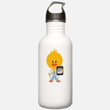 3-RadiologyChickDkT Water Bottle