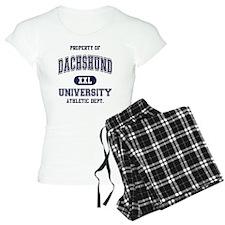 Dachshund-University Pajamas