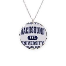 Dachshund-University Necklace