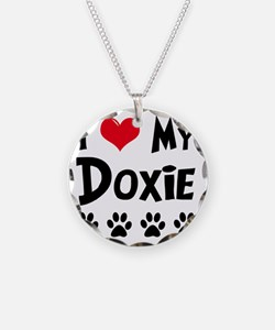 I-Love-My-Doxie Necklace