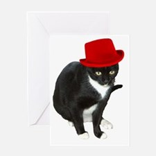 missy_hat Greeting Card