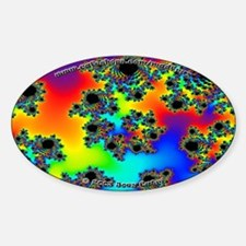 Fractal R~10 Oval Decal