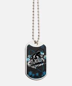 Turntablism Poster Dog Tags