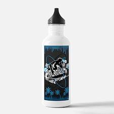 Turntablism Poster Water Bottle