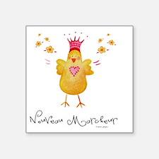 """Nouveau Marcheur Square Sticker 3"""" x 3"""""""