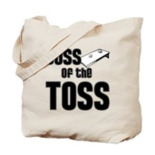 Cornhole_Boss_Black Tote Bag