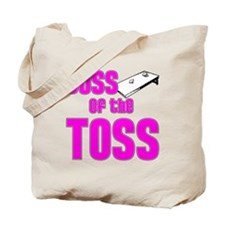 Cornhole_Boss_Pink Tote Bag