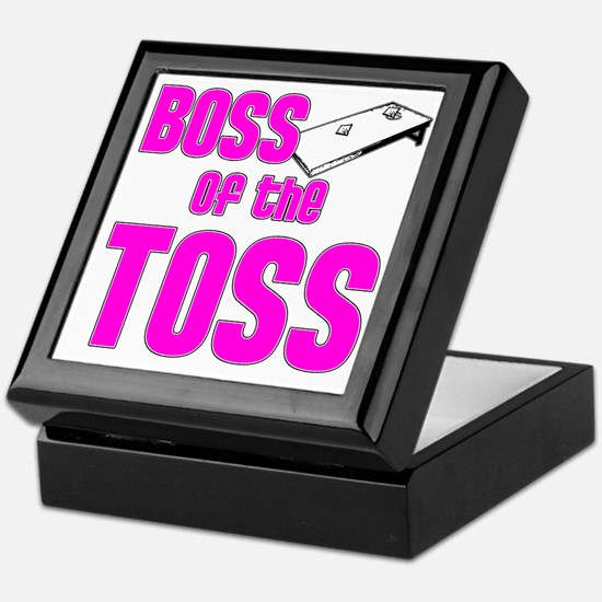 Cornhole_Boss_Pink Keepsake Box