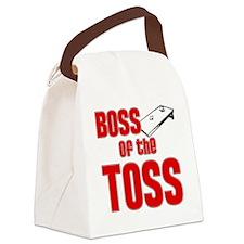 Cornhole_Boss_Red Canvas Lunch Bag