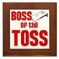 Cornhole_Boss_Red Framed Tile