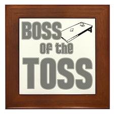 Cornhole_Boss_Grey Framed Tile