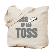 Cornhole_Boss_Grey Tote Bag