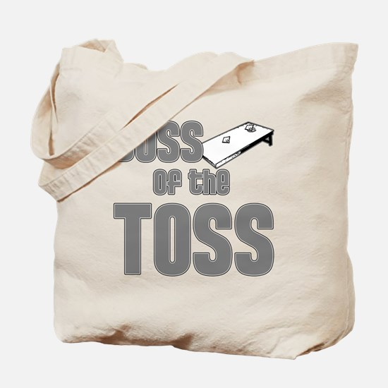 Cornhole_Boss_Grey Tote Bag