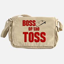 Cornhole_Boss_Red Messenger Bag