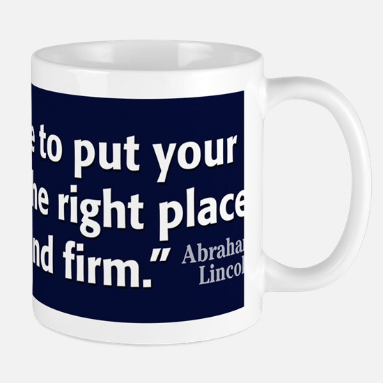 Lincoln Quote Character Mug