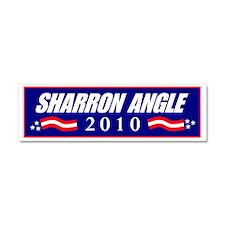 sharronangle Car Magnet 10 x 3