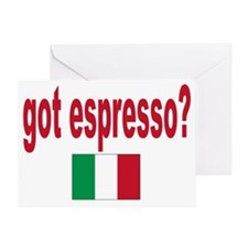got espresso Greeting Card