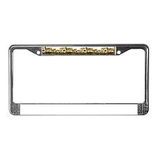 multimushboarder License Plate Frame