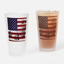 SOLDIER FLAG Drinking Glass