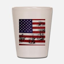 SOLDIER FLAG Shot Glass
