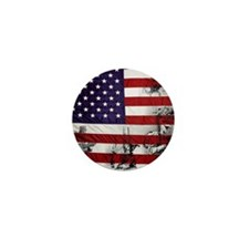 SOLDIER FLAG Mini Button