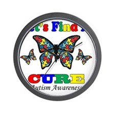 lets find a cure Wall Clock
