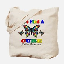lets find a cure Tote Bag