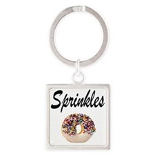 SPRINKLES Square Keychain