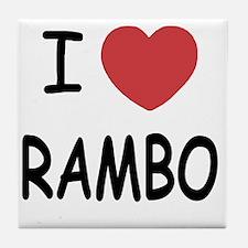 RAMBO Tile Coaster