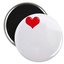 I-Love-My-Pom-Pom-dark Magnet