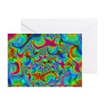Fractal C~03 Greeting Cards (10 Pack)