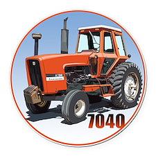 AC-7040-C8trans Round Car Magnet