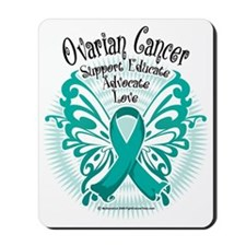 Ovarian-Cancer-Butterfly-3 Mousepad