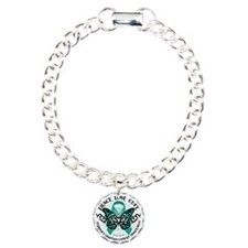 Ovarian-Cancer-Butterfly Bracelet