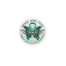 Ovarian-Cancer-Butterfly-Tribal-2 Mini Button
