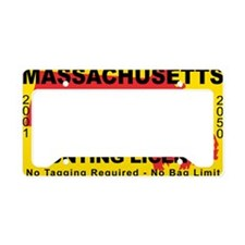 TH-License-MA License Plate Holder
