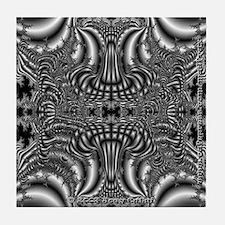 Fractal C~07 Tile Coaster