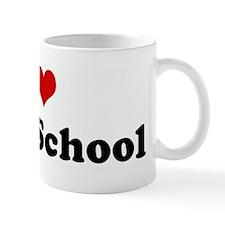 I Love Farm School Mug