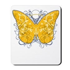 Psoriasis-Butterfly-blk Mousepad