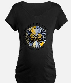 Psoriasis-Butterfly-Tribal- T-Shirt